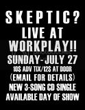 Skeptic at Workplay Battle Of The Bands - Ad: Barron